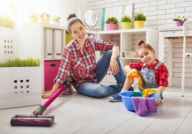 Отличия обычной уборки от уборки в квартире где живут маленькие дети